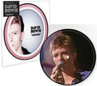 DAVID BOWIE Heroes Vinyl Record 7 Inch Parlophone 2017 Picture Disc